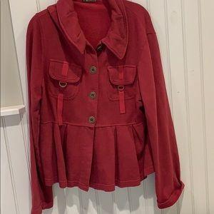 CCVI sweat material jacket